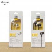 Oppo Reno 3 Silikonlu Mikrofonlu 3.5mm Kulak İçi Kulaklık C5