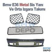 Bmw E36 Metal Sis Yanı Izgara Ve Orta Izgara...