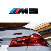 BMW M5 BAGAJ YAZI LOGO MAT SİYAH