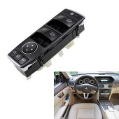 Mercedes W212 Kasa E250 Sol Dörtlü Cam Düğmesi 2128208310