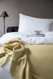Linas 200*230 Pike Yatak Örtüsü Sarı