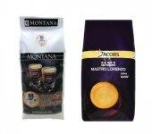 Montana Premium 1 Kg Ve Jacobs Mastro Lorenzo Çekirdek Kahve 1 Kg