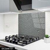 Disegno Cam Ocak Arkası Koruyucu 50x50 Cm Su Damlası Model