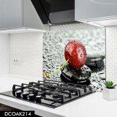 Disegno Cam Ocak Arkası Koruyucu 50x50 Cm Kiraz