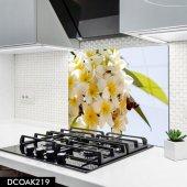 Disegno Cam Ocak Arkası Koruyucu 50x50 Cm Çiçek