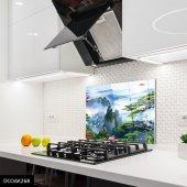 Disegno Cam Ocak Arkası Koruyucu 50x50 Cm Turna
