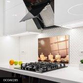 Disegno Cam Ocak Arkası Koruyucu 50x50 Cm Mum
