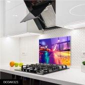 Disegno Cam Ocak Arkası Koruyucu 50x50 Cm Yol