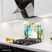 Disegno Cam Ocak Arkası Koruyucu 50x50 Cm Pencere Ve Sahil