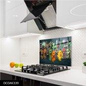 Disegno Cam Ocak Arkası Koruyucu 50x50 Cm Baharat