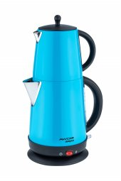 Awox Demplus Mavi Elektrikli Çaycı Çay Makinesi