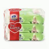 Uni Baby Natural 3lü Islak Havlu