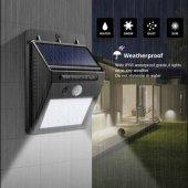 20 Led Dış Mekan Solar Aydınlatma Fotoselli...