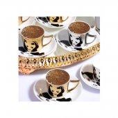 Sefa Sfa 11456 Panda Porselen Kahve Takımı Mirror 6 Lı