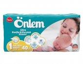 önlem İkiz Paket Bebek Bezi 1 Beden Yeni Doğan 2 5 Kg 40lı