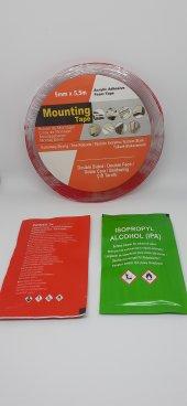 3m Vhb Muadili Body Kit Tuning Montaj Bandı, Silikon Bant 5mmx5,5m Şeffaf, Çift Taraflı 1mm