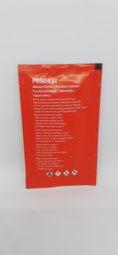 3m Primer 94 Mendil, Folyo Kenar Kapama, Araç Ve Reklam Folyosu Yapışma Arttırıcı, 5'li Paket