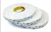 3m 9r110 50mmx50m Beyaz, Çift Taraflı Köpük Bant 1,1mm