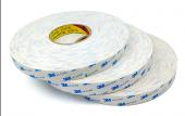 3m 9r110 25mmx50m Beyaz, Çift Taraflı Köpük Bant 1,1mm