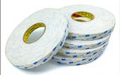 3M 9R110 10mmx50m Beyaz, Çift Taraflı Köpük Bant 1,1mm-2