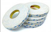 3M 9R110 5mmx50m Beyaz, Çift Taraflı Köpük Bant 1,1mm-2