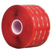 3m 4910f Vhb 10mmx33m Şeffaf Renk Çift Taraflı Bant, Montaj Bandı 1mm