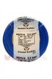 öznur Bakır 2,5 Nya Kablo Mavi 1 Metre