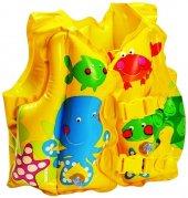 Intex 59661 Balık Desenli Çocuk Can Yelek Can...