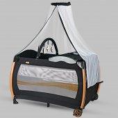 Baby Home 610 Weenle Tüllü 70x110 Bebek Oyun Parkı Yatak Beşik