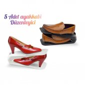 5 Çift Ayakkabı Düzenleyici Ayakkabı Rampası Ayakkabılık