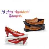 10 Adet Ayakkabı Düzenleyici Ayakkabı Rampası Ayakkabılık