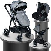 Baby Home Bh 965 Challenger Black Travel Sistem Bebek Arabası