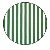 Balkon Korkuluğu Çizgili Polyester Yeşil-Beyaz50 cm X 9 Mt.