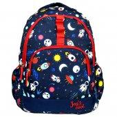Joy' S Cool Erkek Çocuk Astronot Okul Çantası İlkokul Ve Günlük Lacivert