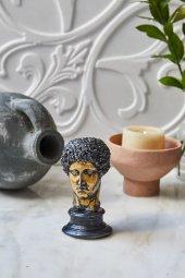 Dekoratif Yunan Hermes Büst (5)