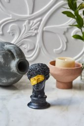 Dekoratif Yunan Hermes Büst (2)