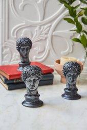 3lü Dekoratif Yunan Hermes Büst (1)