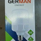 3 Adet German Energy 50 Watt Beyaz E27 Duylu...