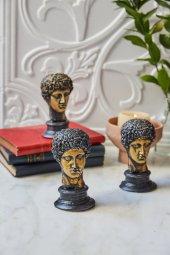 3lü Dekoratif Yunan Hermes Büst (4)
