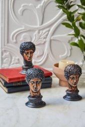 3lü Dekoratif Yunan Hermes Büst (3)