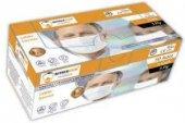 Nıtrexcmr 3 Katlı Lastikli Cerrahi Maske 50 Adet