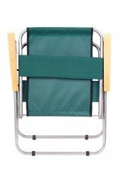 Katlanır Kamp/Bahçe Sandalyesi (Ahşap Kolçaklı)-2