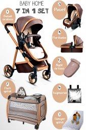 Baby Home 955 Gold Vip Travel Sistem Bebek Arabası 600 Oyun Parkı Yatak Beşik
