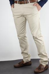 Ozan Erkek Keten Pantolon Normal Kesim Dar Paça