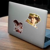 Rönesans Figürleri 2 Set Mini Notebook Sticker