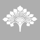 Art Nouveau Demet Çiçek-14 Stencil Tasarımı 30 x 30 cm