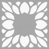 Nita Çiçek Motifi Stencil Tasarımı 30 x 30 cm