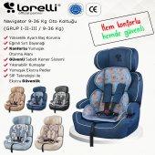 Lorelli Navigator 9-36 Kg Bebek Çocuk Oto Koltuğu-5