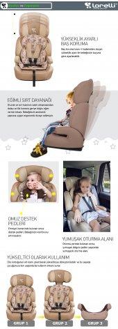 Lorelli Navigator 9-36 Kg Bebek Çocuk Oto Koltuğu-10