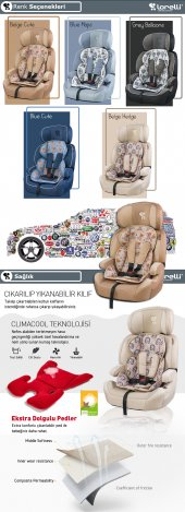 Lorelli Navigator 9-36 Kg Bebek Çocuk Oto Koltuğu-11